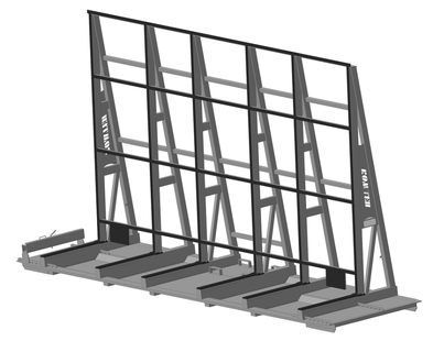 STILLAGE FOR GLASS TRANSPORT Model 1