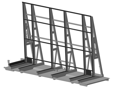 STILLAGE FOR GLASS TRANSPORT Model 2