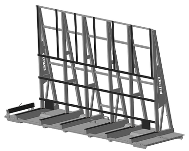 STILLAGE FOR GLASS TRANSPORT Model 3